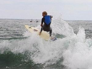 océan, le surf, les surfeurs, les vagues