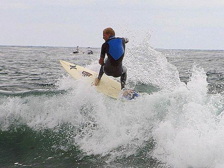 océano, surf, surfistas, olas