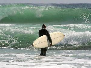 surfeurs, surf, océan, vagues, planches de surf