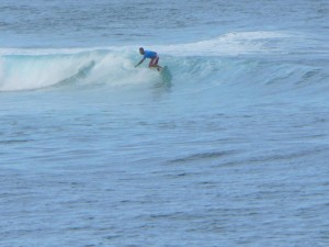 Sörf, yalnız