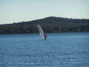 windsurf, lago