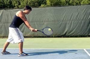 play, game, tennis