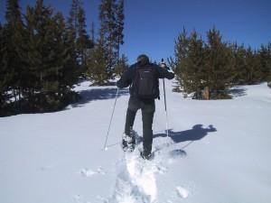 snowshoeing, ski, sport