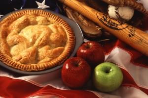 jablkový koláč, jablká, jedlo