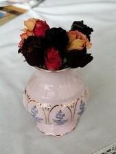 bouquet, vase