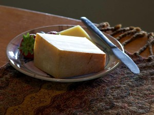 fromage, fraise, palte, nature morte, photo
