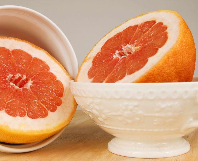 ceramic, bowls, grapefruit
