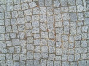 Ziegel, Pflastersteine, Textur