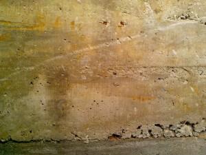 cemento, struttura, arrugginito