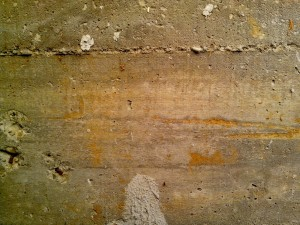 rusty, concrete, texture, wall