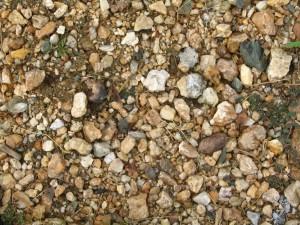 gravel, texture