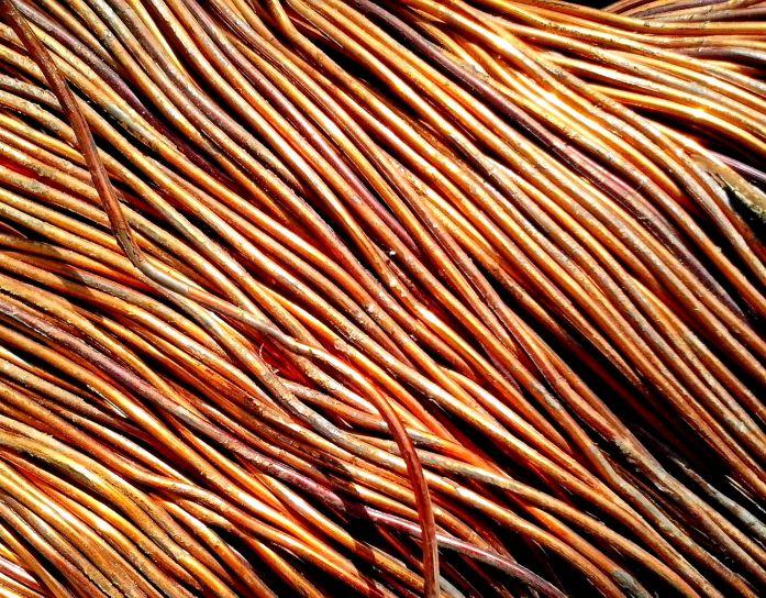 copper, wire