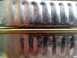 metal, sardines