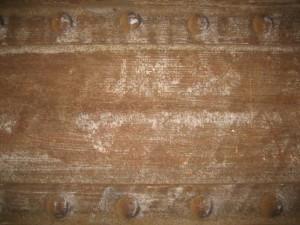 vieux, sale, poussiéreux, rouillé, gratté, métal, fer, structure, texture