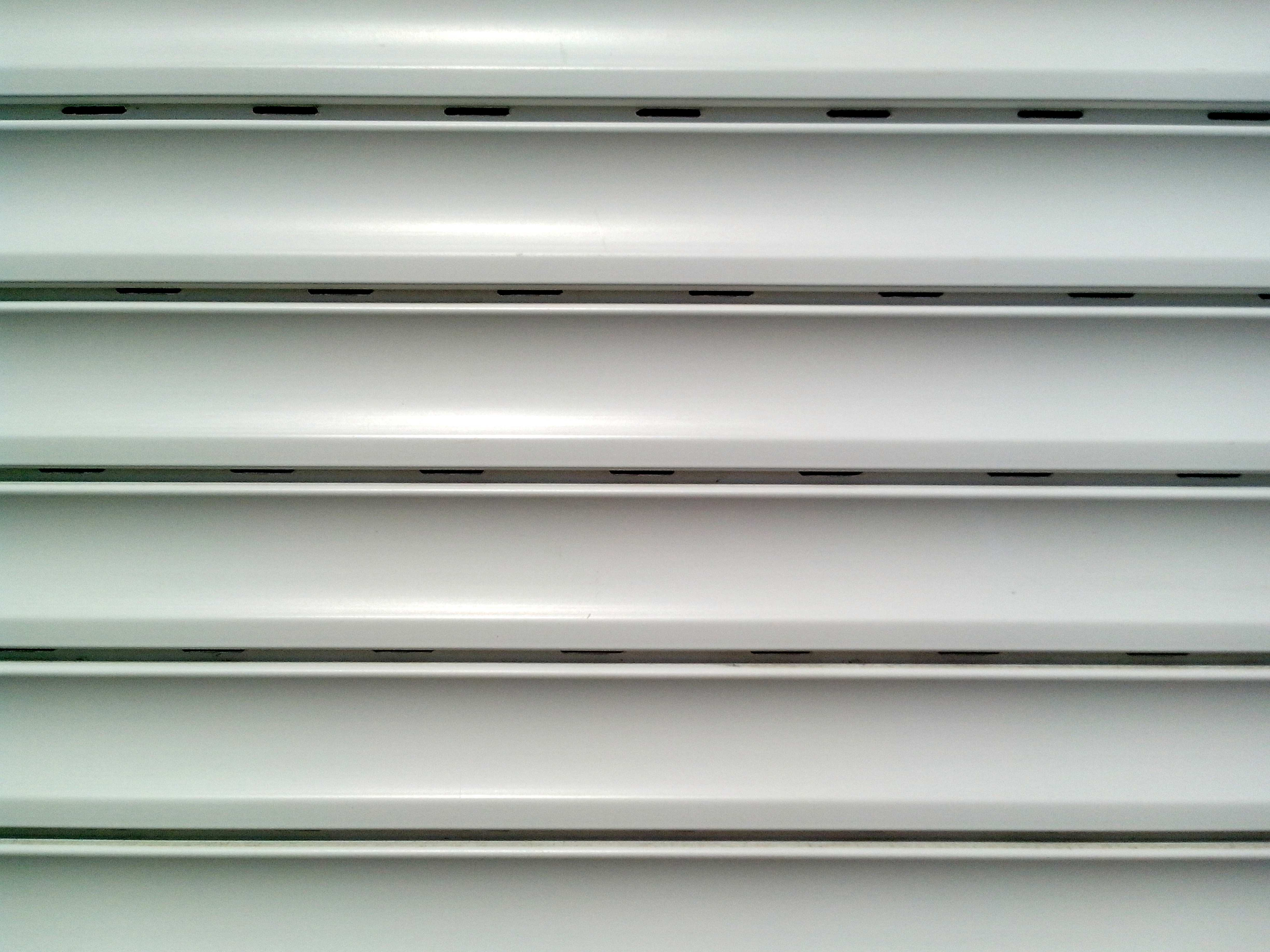 Free photograph; white, plastic, blinds