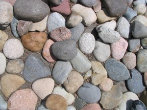 big, stone, texture