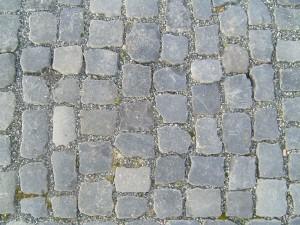 cobbles, grey