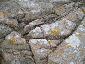 fissures, pierres, modèle