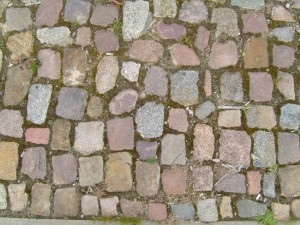 old, cobbles, stones
