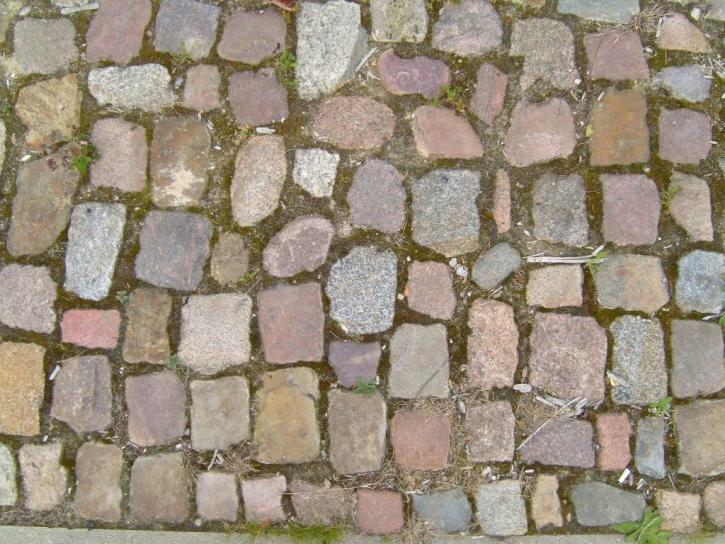 vechi, pavaj, pietre