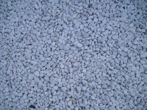 petites, blanches, pierres