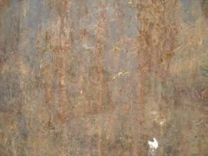 rusty, wall