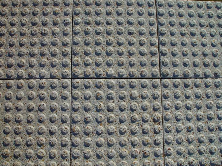 stippled, cement, paving, blocks, texture
