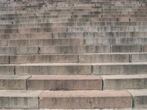 stone, steps