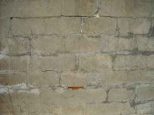 zid de caramida, vechi,
