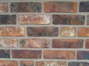 décoratif, brique, mur