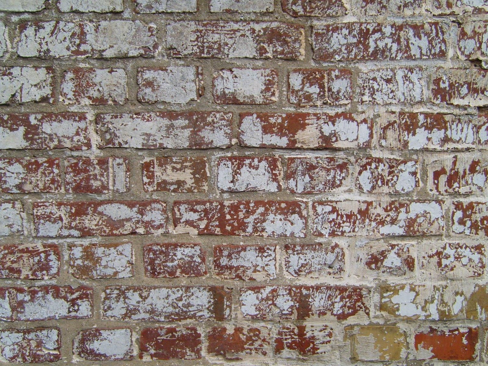 free picture painted red brick wall