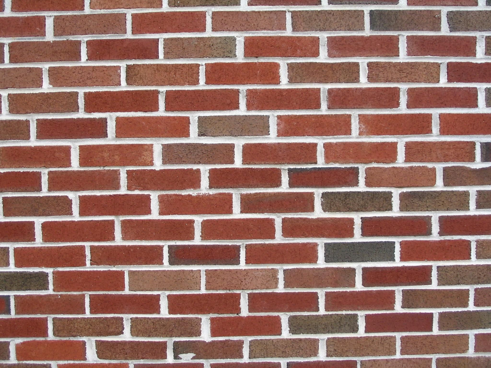free picture red brick texture wall