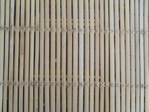bamboo, table, texture