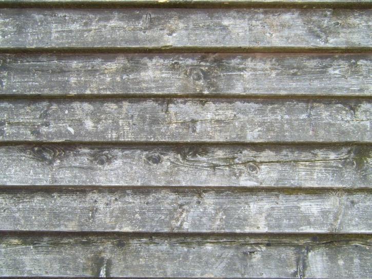 오래 된, 나무, planked, 벽