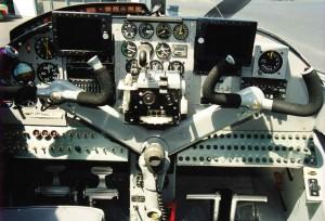 avions, avion, contrôle, panneau