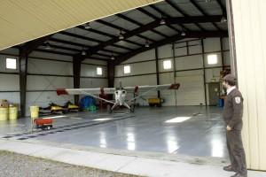aircraft, hanger