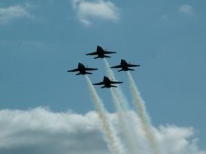 avions, silhouette