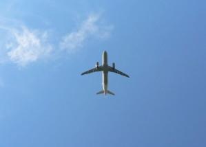 repülőgép, ég