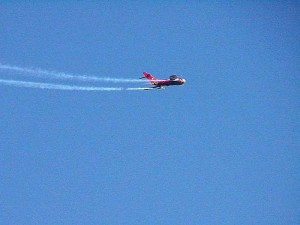 airshow, airplanes, jet