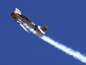 airshows, avions, bombardiers, marines, des ailes, de la fumée