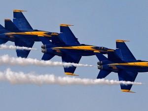azul, anjos, miramar, airshow