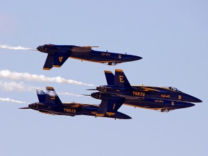 bleu, anges, jets, miramar, airshow