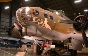 Boeing B-17G, aircraft, flying fortress, museum