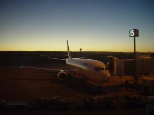 rano jutro, let, Perth, Zračna luka, zapadni, Ujedinjeno Kraljevstvo