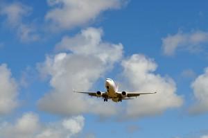 passager, avion, ciel