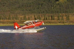 Water float plane