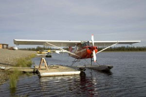 flotteur, avion, prêt