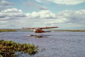 플 로트, 수송, 항공기, 호수