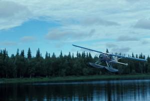 Floatplane, avion, letenje, voda