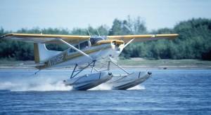 svjetla, plovak, avion, zrakoplov, izradu, slijetanje